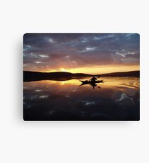 Farewell to Finstown Canvas Print
