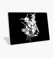 Goatlord and Baphomet Death Metal Art Laptop Skin
