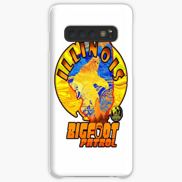 Illinois Bigfoot Patrol New State Sasquatch Monster Retro Cryptozoology Samsung Galaxy Snap Case