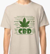 Hemp CBD Oil Classic T-Shirt