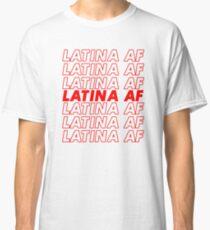 Camiseta clásica Camiseta Af Latina de Gina Camiseta Latina Tener una camiseta de Niza día
