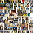 #collection, #pattern, #art, #design, paper, abstract, illustration, mosaic, decoration, old by znamenski