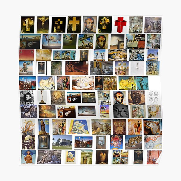 #collection, #pattern, #art, #design, paper, abstract, illustration, mosaic, decoration, old Poster