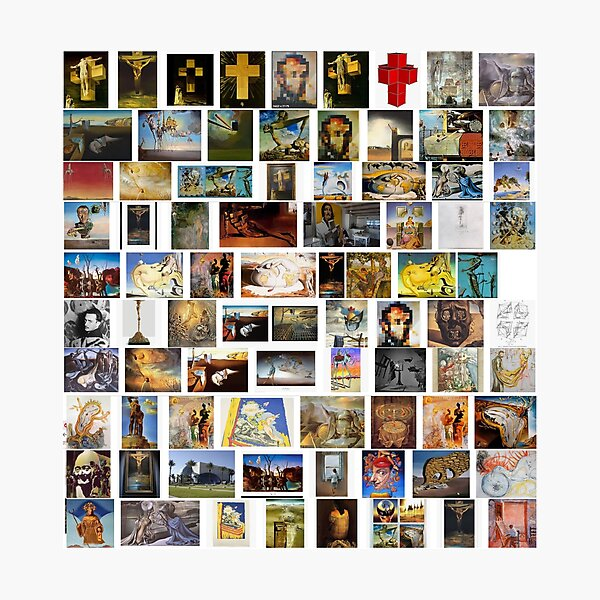 #collection, #pattern, #art, #design, paper, abstract, illustration, mosaic, decoration, old Photographic Print