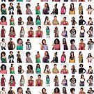 #eyewear #people #collection #design crowd fashion adult art illustration by znamenski