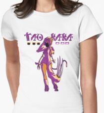 taokaka - female shirt Womens Fitted T-Shirt