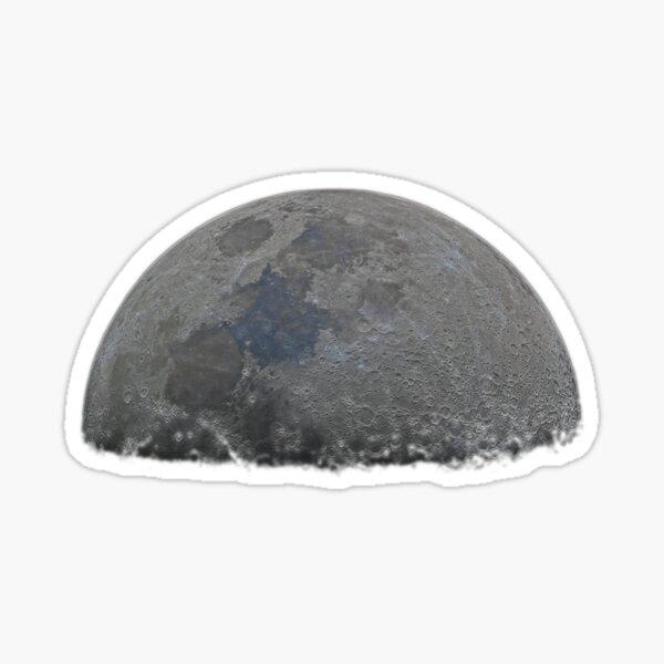 Half moon high resolution Sticker