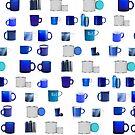 #blue #pattern #design #02l 02l symbol internet vector illustration folder calendar cart printer by znamenski