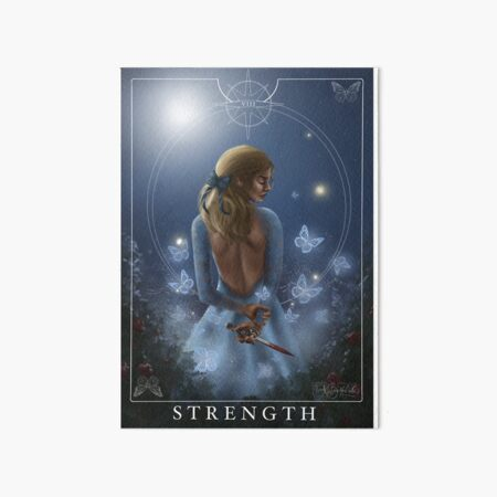 Strength - Donatella Art Board Print