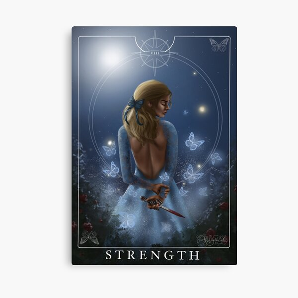 Strength - Donatella Canvas Print