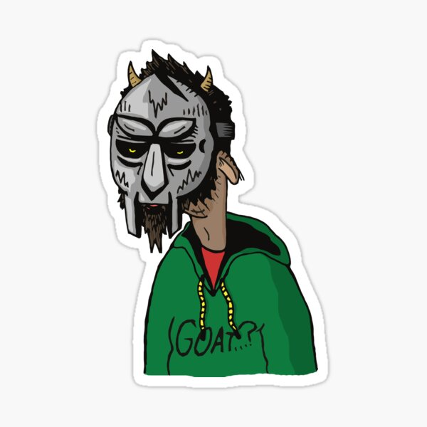 DOOM GOAT Sticker