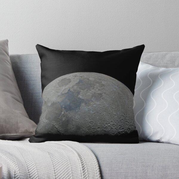 Half moon high resolution Throw Pillow