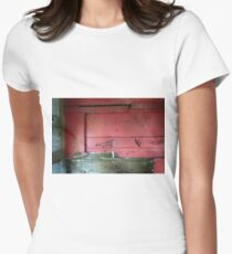 Railway Graveyard 07 (There is Beauty in Decay) Fitted T-Shirt