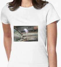 Railway Graveyard 08 Fitted T-Shirt