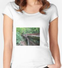 Railway Graveyard 09 Fitted Scoop T-Shirt