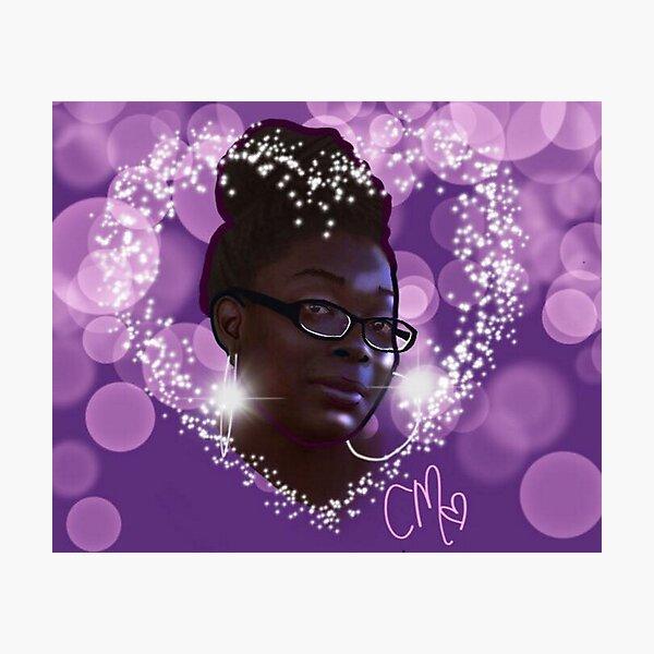 Ebony Photographic Print