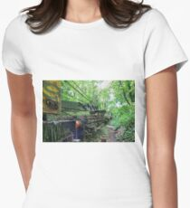 Railway Graveyard 11 Fitted T-Shirt