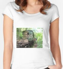 Railway Graveyard 12 Fitted Scoop T-Shirt