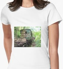 Railway Graveyard 12 Fitted T-Shirt