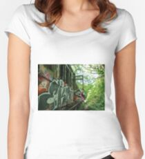 Railway Graveyard 13 Fitted Scoop T-Shirt