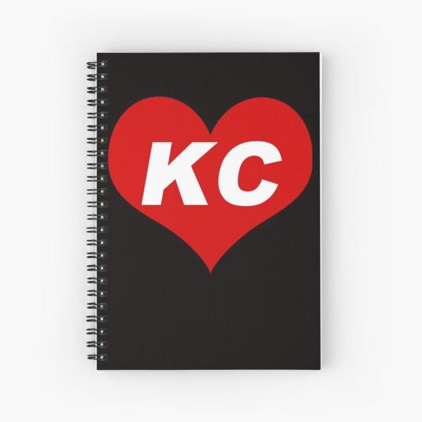 LOVE KC - Kansas City Spiral Notebook