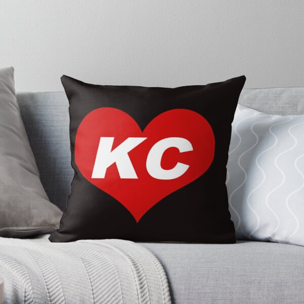 LOVE KC - Kansas City Throw Pillow