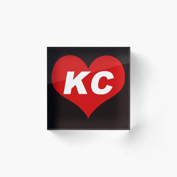 LOVE KC - Kansas City Acrylic Block