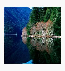Crescent Lake, Washington Photographic Print