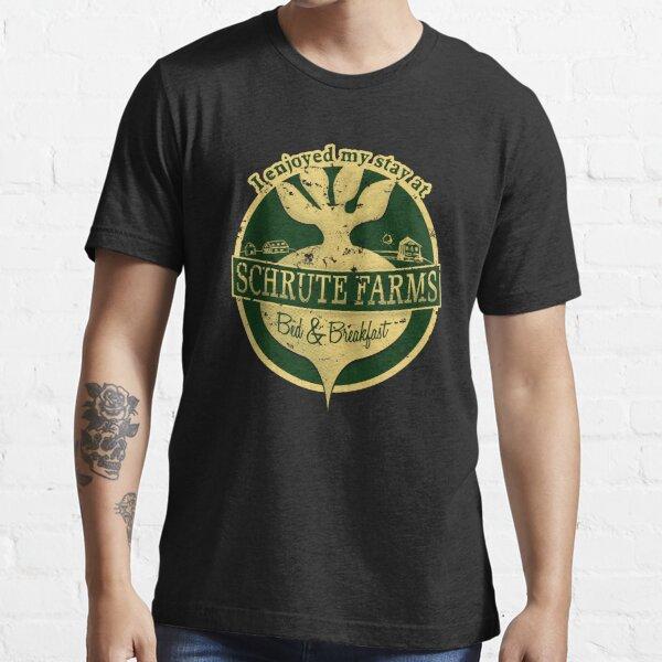 Ich habe meinen Aufenthalt in Schrute Farms (Green) genossen Essential T-Shirt