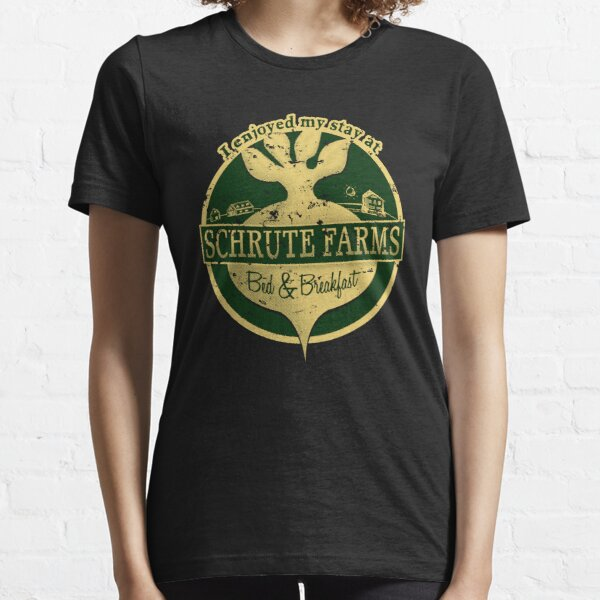 I enjoyed my stay at Schrute Farms (Green) Essential T-Shirt