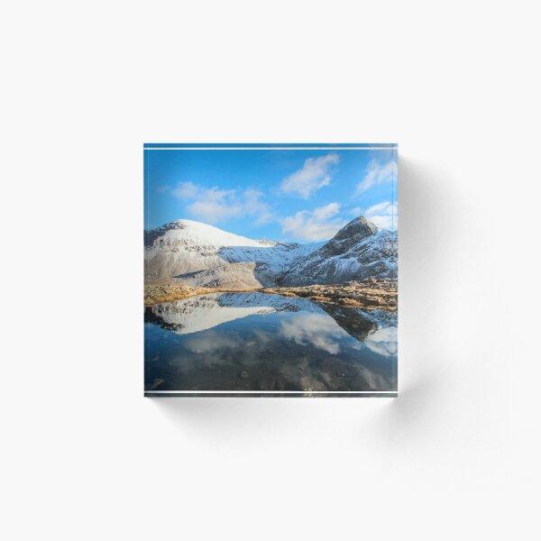 Beinn Eighe Reflections Acrylic Block