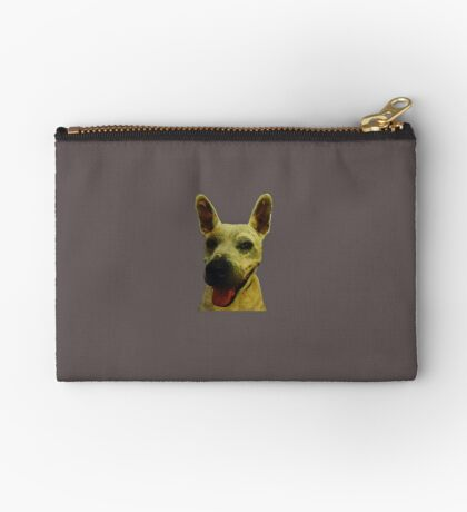 Smiling Jeff Zipper Pouch