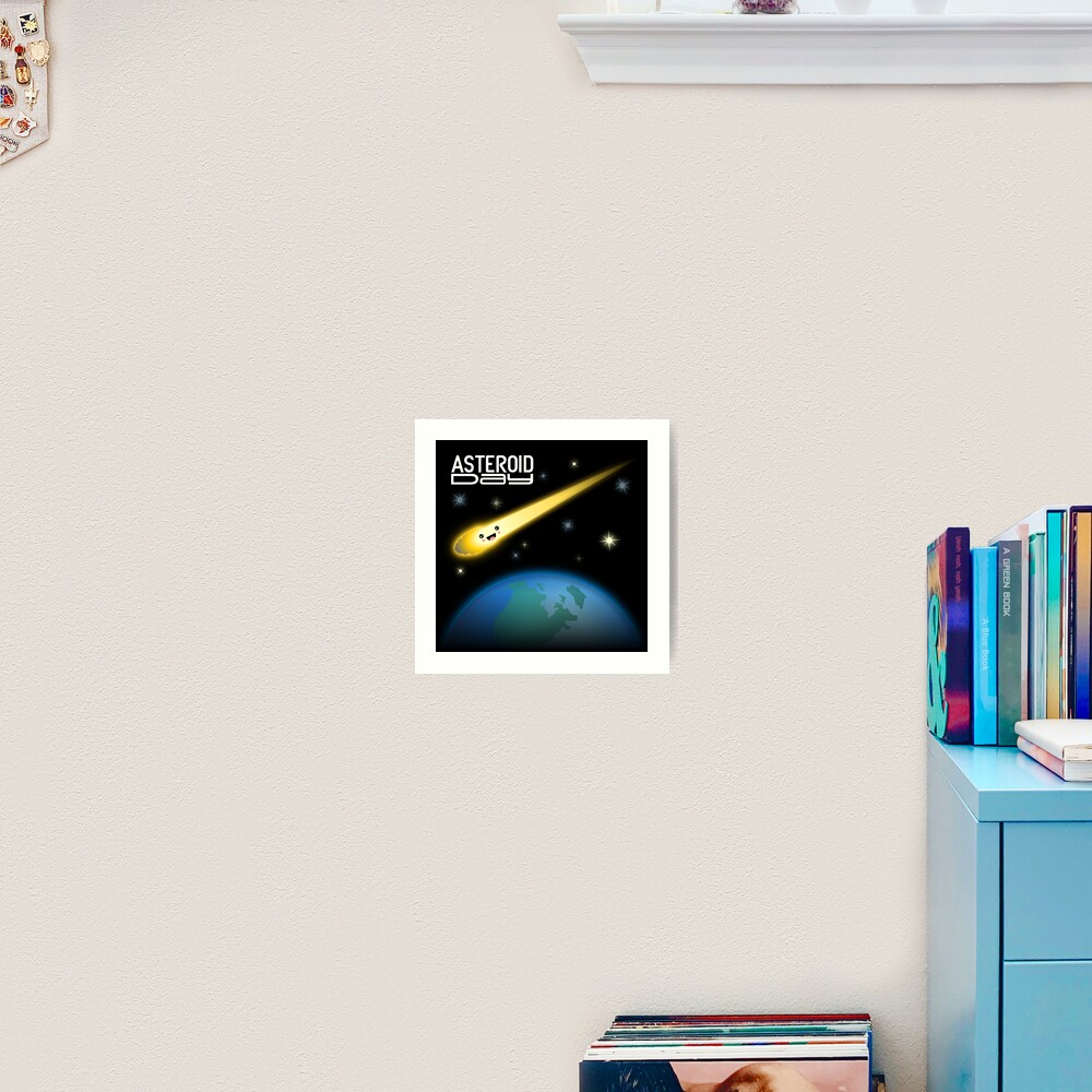 Asteroid Day Art Print