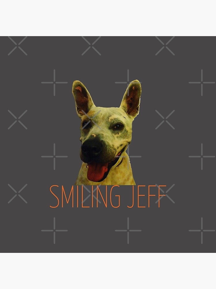 Smiling Jeff with Orange Text by willpate