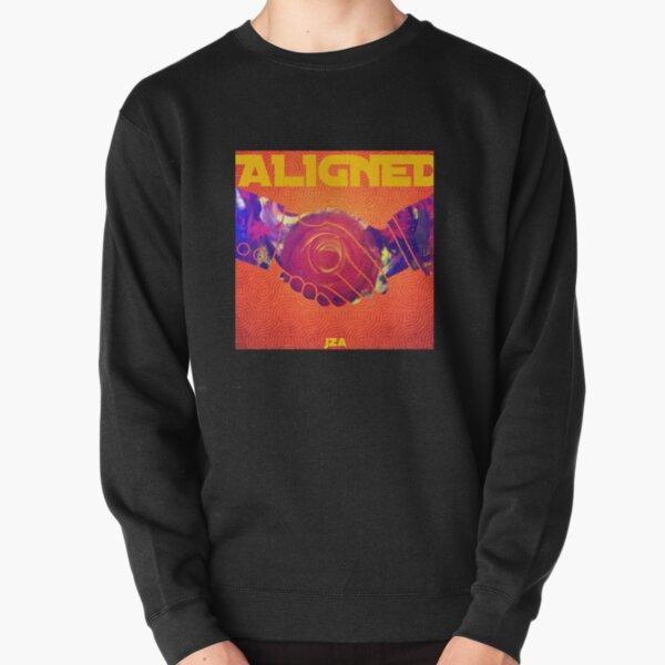 Aligned  Pullover Sweatshirt