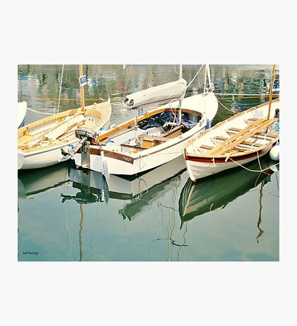 Three Little Boats Photographic Print