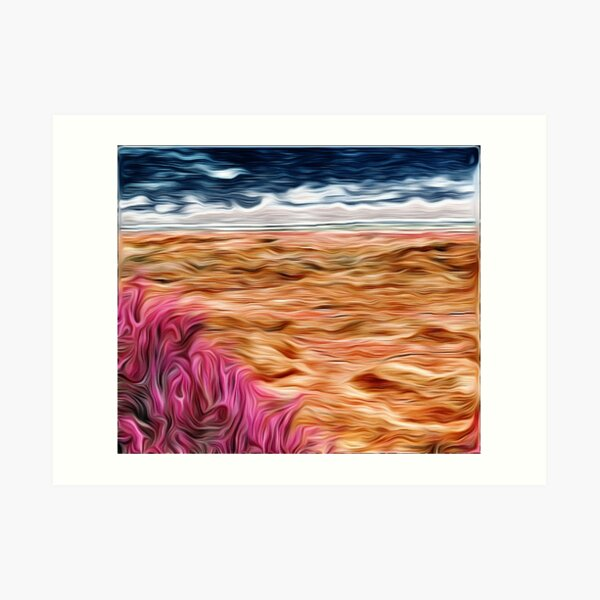 Burning Bush Art Print