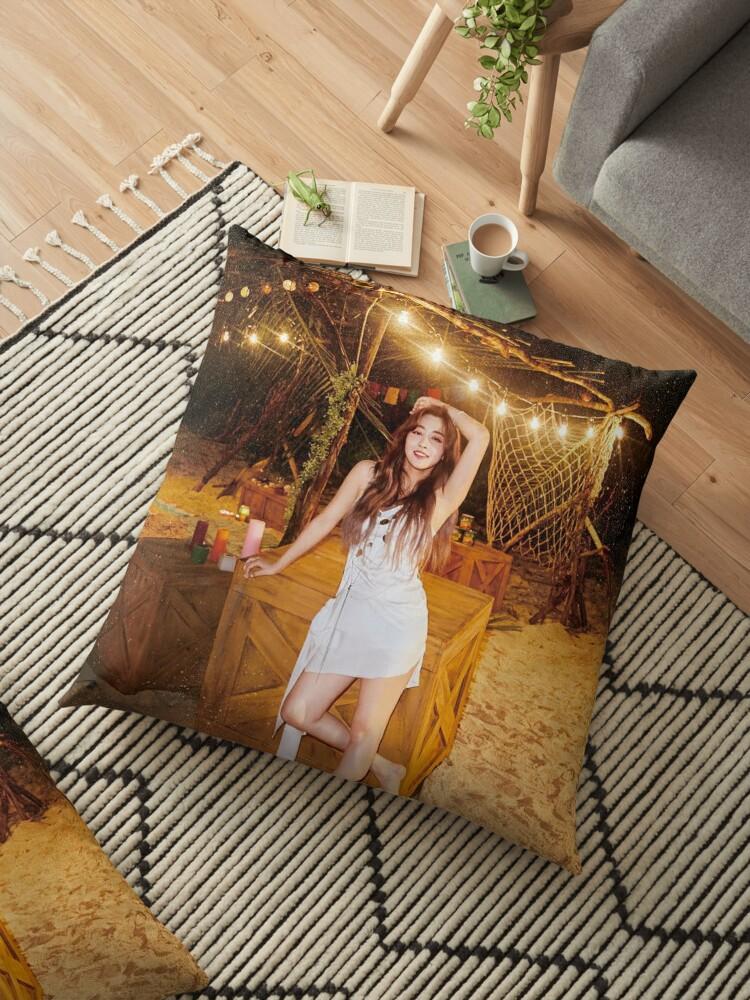 Twice Dance The Night Away Jihyo Floor Pillow By Twicemporium