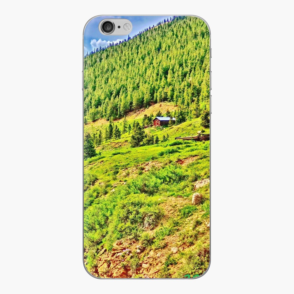 Roaring Fork River at Independence Ghost Town iPhone Skin