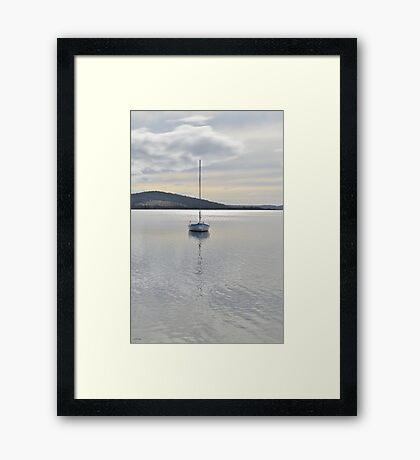 A Perfect Evening Framed Print