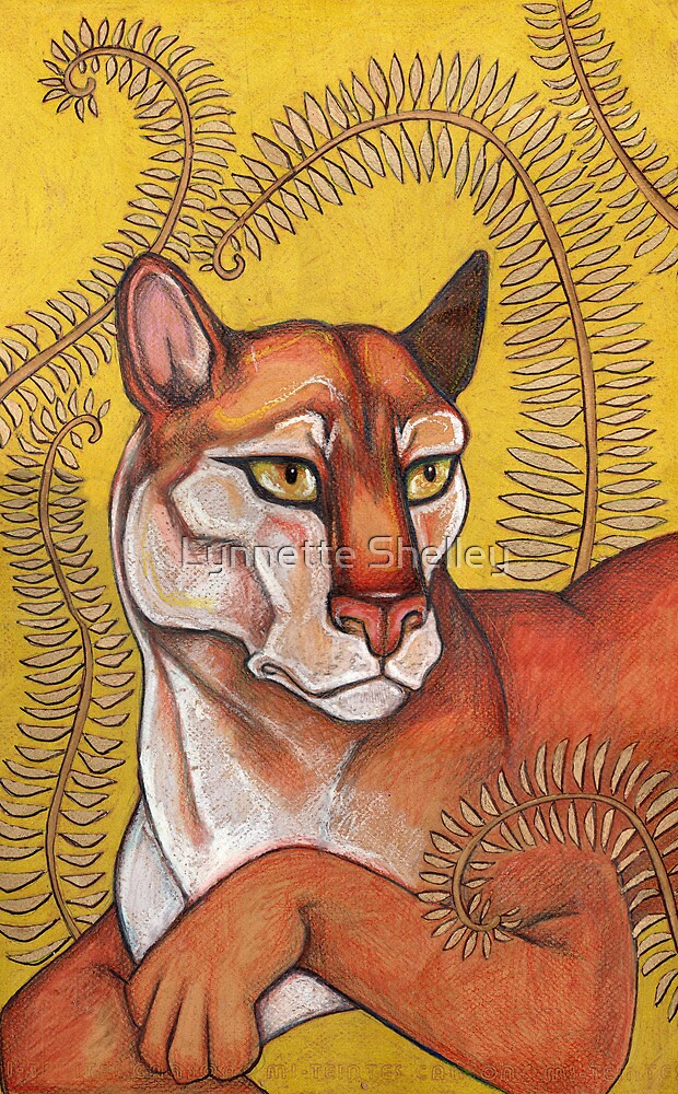 Goldeneye (The Cougar) by Lynnette Shelley