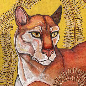 Goldeneye (The Cougar) by LynnetteShelley
