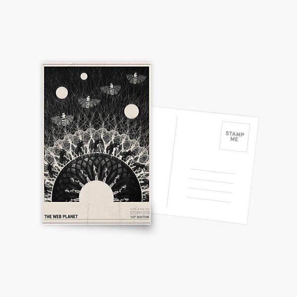 The Web Planet Postcard