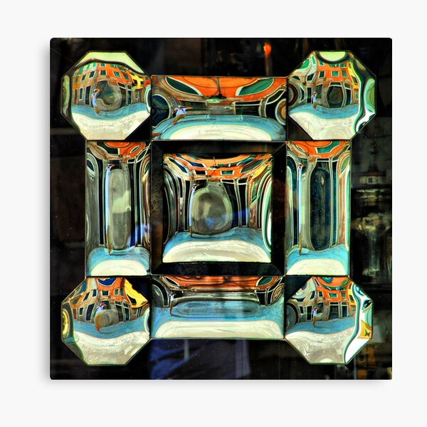 9 reflections Canvas Print