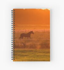Sunny Horse Spiral Notebook