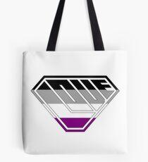 Love SuperEmpowered (Black, Grey, White & Purple) Tote Bag