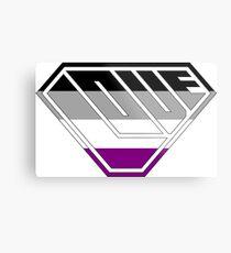 Love SuperEmpowered (Black, Grey, White & Purple) Metal Print