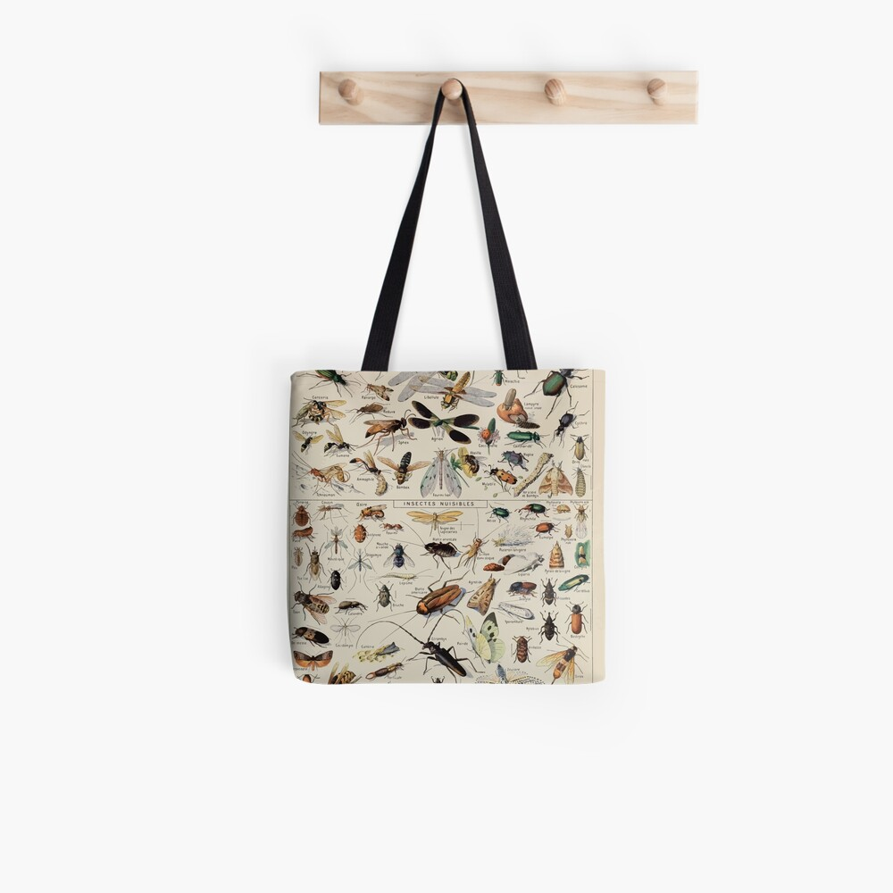 Adolphe Millot insectes Tote Bag