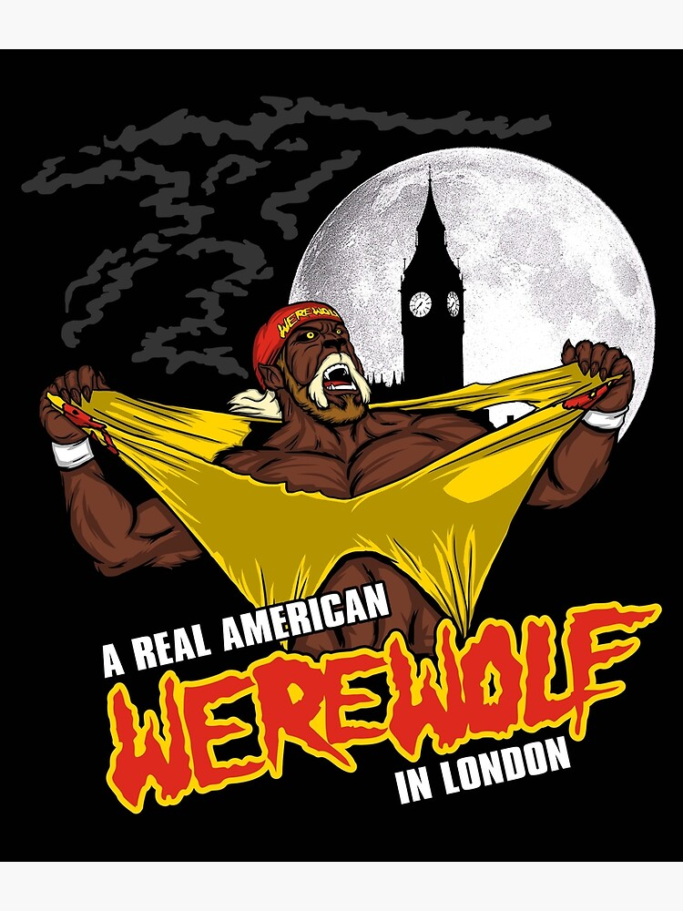 Real American Werewolf | Poster