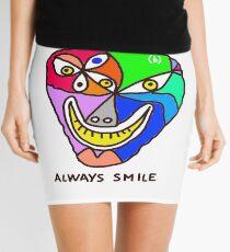 Always Smile (monster) Mini Skirt